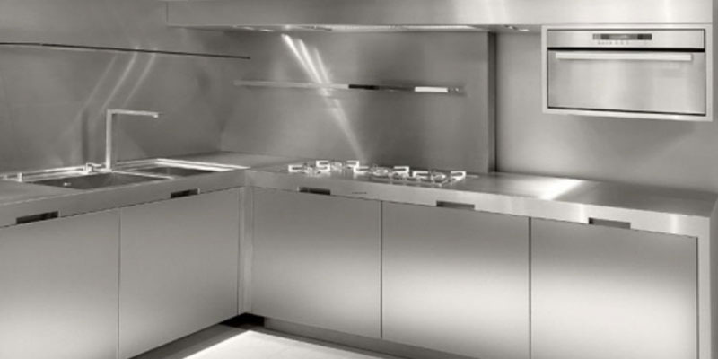 Jasa Pembuatan Kitchen Set Stainless Steel Tampilan Lebih Modern